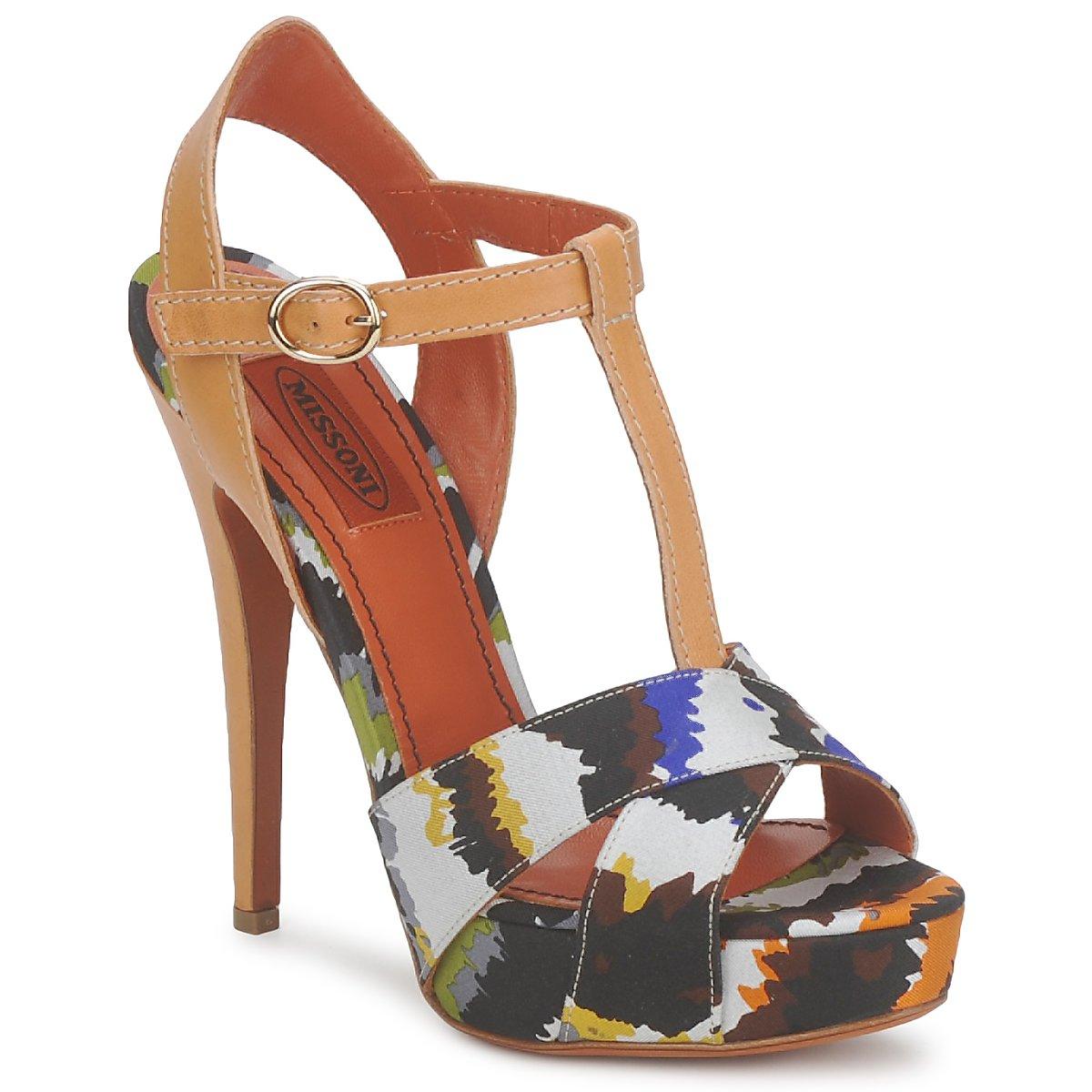 sandaler Missoni TM69 Flerfarvet
