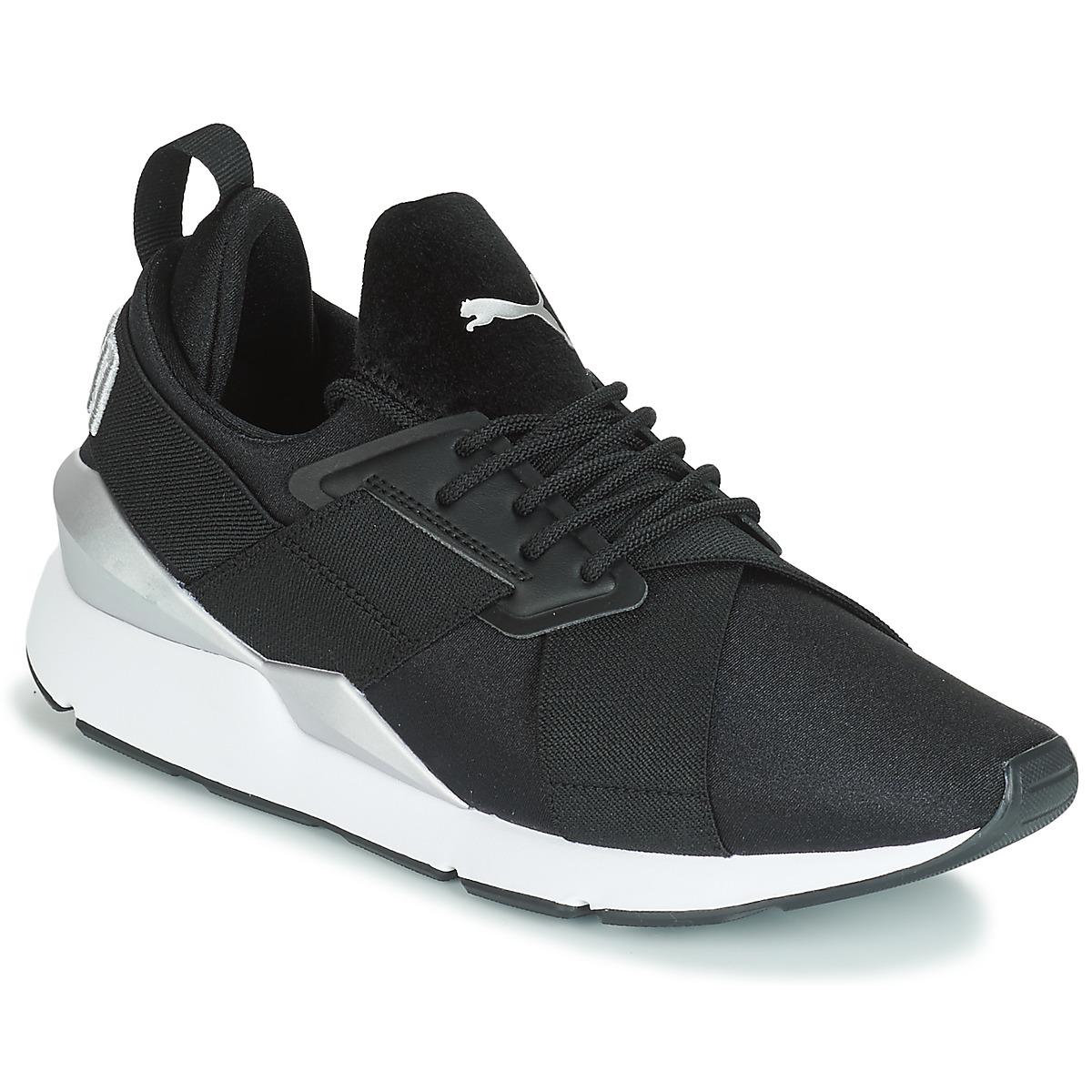 Sneakers Puma  WN MUSE SATIN II.BLACK