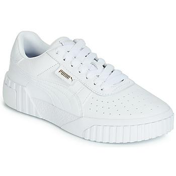 a4cb72c32426 Sko Dame Lave sneakers Puma CALI Hvid