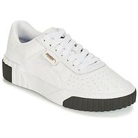 Sko Dame Lave sneakers Puma CALI Hvid / Sort