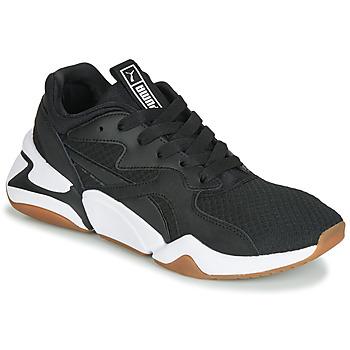 Sko Dame Lave sneakers Puma WN NOVA 90'S BLOC.BL-BL Sort