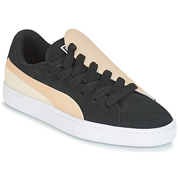 Sko Dame Lave sneakers Puma WN BASKET CRUSH PARIS.SILV Sort