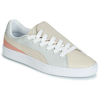 Sko Dame Lave sneakers Puma WN BASKET CRUSH PARIS.GRAY Beige