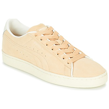 Sko Lave sneakers Puma SUEDE RAISED FS.NA V-WHIS Beige