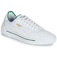 Sko Herre Lave sneakers Puma CALI.WH-AMAZON GREEN-WH Hvid / Grøn