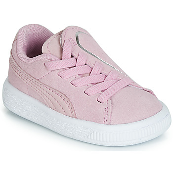 Sko Pige Lave sneakers Puma INF SUEDE CRUSH AC.LILAC Lilla
