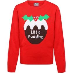 textil Pige Pullovere Christmas Shop CS135 Red