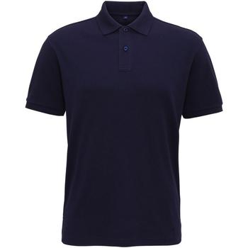 textil Herre Polo-t-shirts m. korte ærmer Asquith & Fox AQ005 Navy