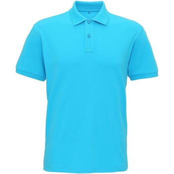 textil Herre Polo-t-shirts m. korte ærmer Asquith & Fox AQ005 Turquoise