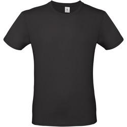 textil Herre T-shirts m. korte ærmer B And C TU01T Black