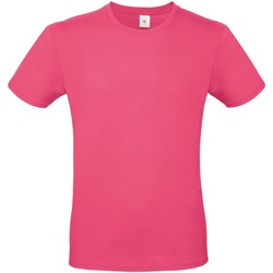 textil Herre T-shirts m. korte ærmer B And C TU01T Fuchsia
