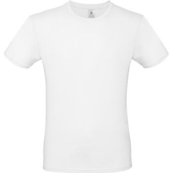 textil Herre T-shirts m. korte ærmer B And C TU01T White