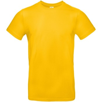 textil Herre T-shirts m. korte ærmer B And C TU03T Gold