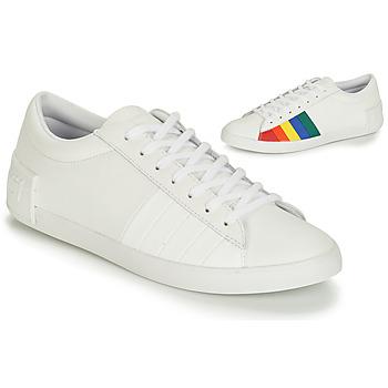 Sko Dame Lave sneakers Le Coq Sportif FLAG Hvid / Flerfarvet