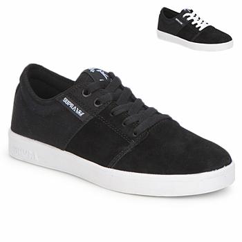 Sko Lave sneakers Supra STACKS II Sort / Hvid