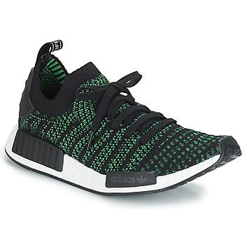 Sko Lave sneakers adidas Originals NMD_R1 STLT PK Sort / Grøn