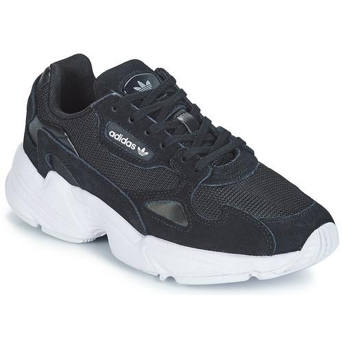 Sko Dame Lave sneakers adidas Originals FALCON W Sort