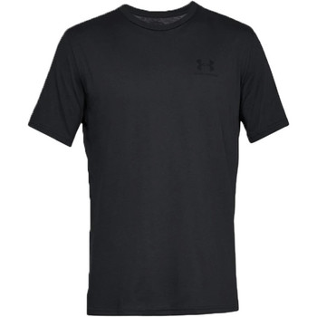 textil Herre T-shirts m. korte ærmer Under Armour Sportstyle Left Chest Tee 1326799-001 noir