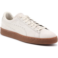 Sko Herre Lave sneakers Puma Lifestyle shoes  Suede Classic Natural Warmth 363869 02 beige