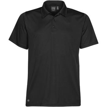 textil Herre Polo-t-shirts m. korte ærmer Stormtech PG-1 Black