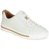 Sko Dame Lave sneakers Clarks UN MAUI LACE Hvid