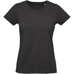 textil Dame T-shirts m. korte ærmer B And C Inspire Black