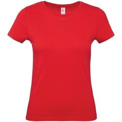 textil Dame T-shirts m. korte ærmer B And C E150 Red