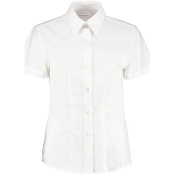 textil Dame Skjorter / Skjortebluser Kustom Kit KK360 White