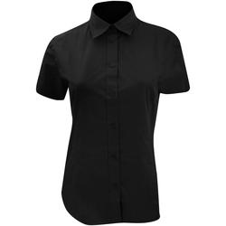textil Dame Skjorter / Skjortebluser Kustom Kit KK728 Black