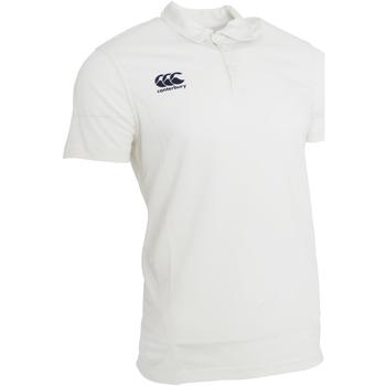 textil Herre Polo-t-shirts m. korte ærmer Canterbury CN155 Cream