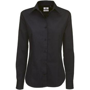 textil Dame Skjorter / Skjortebluser B And C SWT83 Black