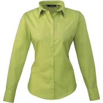textil Dame Skjorter / Skjortebluser Premier PR300 Lime