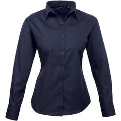 textil Dame Skjorter / Skjortebluser Premier PR300 Navy