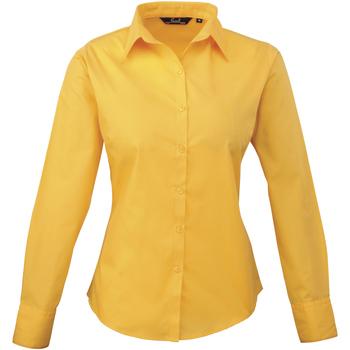 textil Dame Skjorter / Skjortebluser Premier PR300 Sunflower