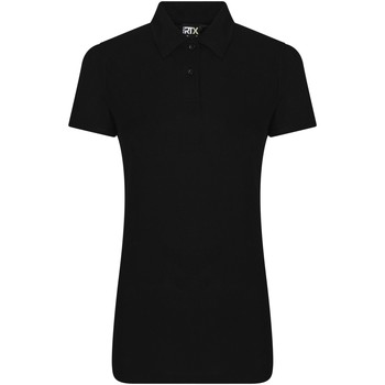 textil Dame Polo-t-shirts m. korte ærmer Pro Rtx RX05F Black
