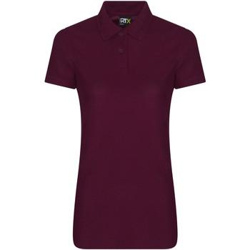 textil Dame Polo-t-shirts m. korte ærmer Pro Rtx RX05F Burgundy