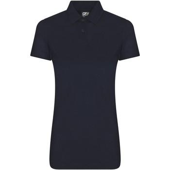 textil Dame Polo-t-shirts m. korte ærmer Pro Rtx RX05F Navy