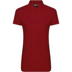 textil Dame Polo-t-shirts m. korte ærmer Pro Rtx RX05F Red
