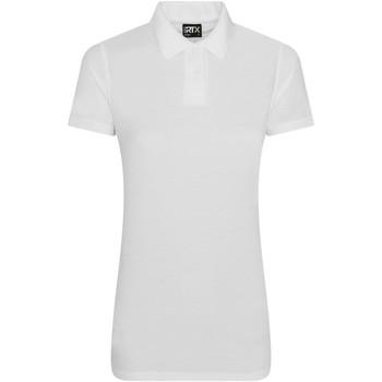 textil Dame Polo-t-shirts m. korte ærmer Pro Rtx RX05F White