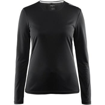 textil Dame Langærmede T-shirts Craft CT89F Black