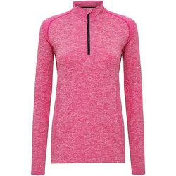 textil Dame Langærmede T-shirts Tridri TR205 Pink