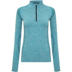 textil Dame Langærmede T-shirts Tridri TR205 Turquoise