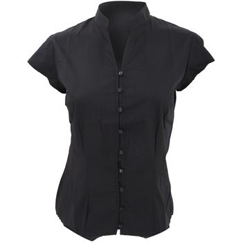 textil Dame Skjorter / Skjortebluser Kustom Kit KK727 Black
