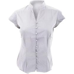 textil Dame Skjorter / Skjortebluser Kustom Kit KK727 White