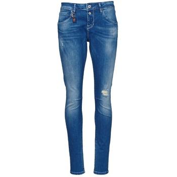 textil Dame Smalle jeans Only LISE Blå