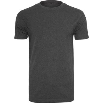 textil Herre T-shirts m. korte ærmer Build Your Brand BY004 Charcoal