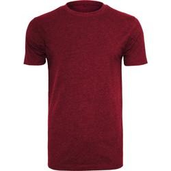 textil Herre T-shirts m. korte ærmer Build Your Brand BY004 Burgundy