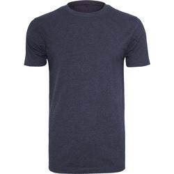 textil Herre T-shirts m. korte ærmer Build Your Brand BY004 Navy