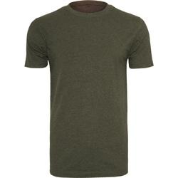 textil Herre T-shirts m. korte ærmer Build Your Brand BY004 Olive