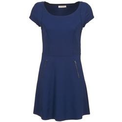 textil Dame Korte kjoler Naf Naf KANT Marineblå